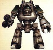 Skorrvall Sangreamarga Dreadnought Contemptor Guardia de la Muerte 1ª Cía Istvaan III
