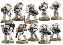 Escuadra Táctica Cicatrices Blancas