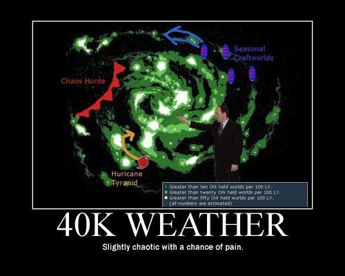 Clima del 40k Wikhammer 40K