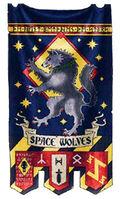 Estandarte del Capítulo de los Lobos Espaciales