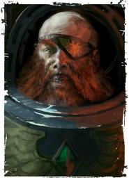 Marine guardia del lobo de logan grimnar Ranulf Ironfang
