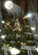 Batalla Ángeles Oscuros Catedral Capellán Interrogador