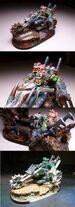 Miniatura motocicleta orko