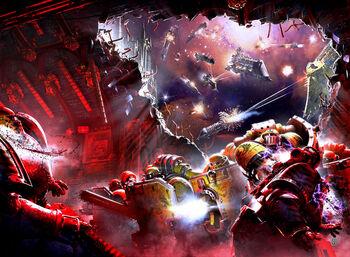 Marines puños imperiales asalto espacial sombras traicion.jpg