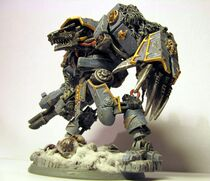 Arte dreadnought lobo espacial