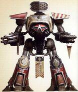 Titán Reaver Naga Roja Legio Atarus