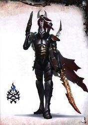 Eldar oscuro arconte señores espina de hierro