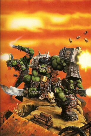 Artwork, Copyright Games Workshop, Gorkamorka, Orks, Retro Review, White Dwarf.jpg