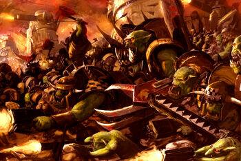 Orkoz Chicoz waaagh warhammer 40k wikihammer color.jpg