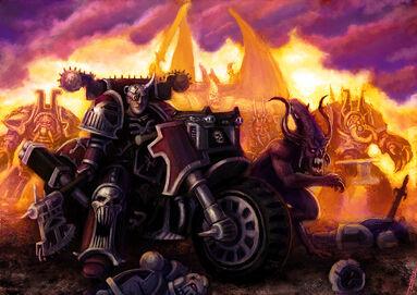 Invasión de los Portadores de la Palabra junto con Demonios
