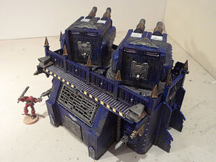 Bateria Imperial 60 Wikihammer 40K