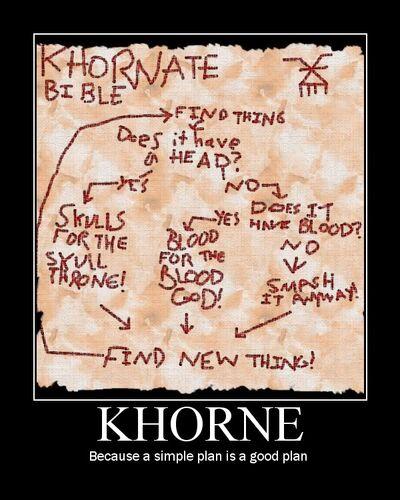 Khorne plan