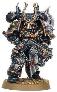 Miniatura caos legion negra marine astado