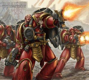 Escuadra asalto vinaeum angeles sangrientos