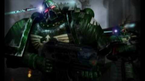 Warhammer 40k animation-Dark Angel battle