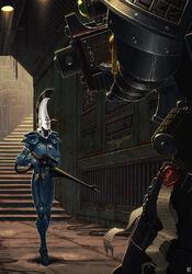 Guardianes de la Muerte Guardian Eldar Catapulta Shuriken Ordo Xenos Wikihammer