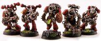 Miniatura marines del caos mutados