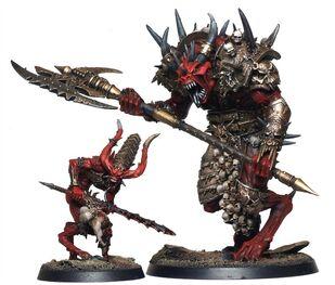 Caos principe demonio de khorne
