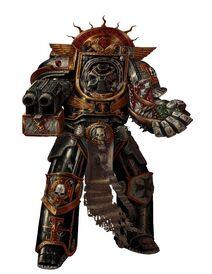 Guardianes de la Muerte Exterminador Bolter de Asalto Halo de Hierro Ordo Xenos Wikihammer