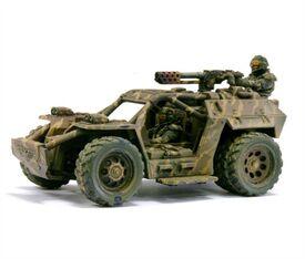 Mini Vehículo rápido de asalto Tauros