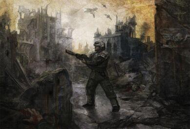 Guardia Imperial Warhammer 40k wikihammer ruinas