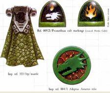 Simbolos de los Salamandras