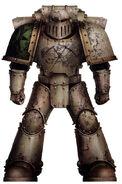 Sargento Taragth Sune Guardia de la Muerte Asalto a la Luna de Grhendal