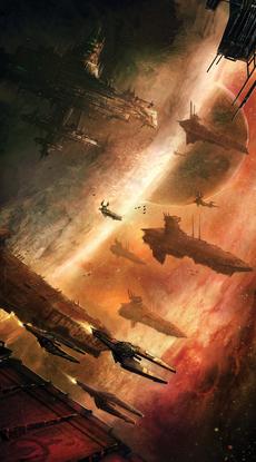 Flota de aeronaves del Caos warhammer.png