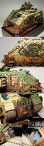 Land raider crusader de los angeles de redencion