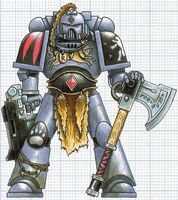 Space Wolves Space Marine