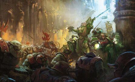 Ángeles Oscuros Orkos Warhammer 40k Wikihammer