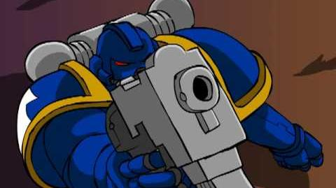 Space Marine and the cruelty of chance - mwg contest entry-0