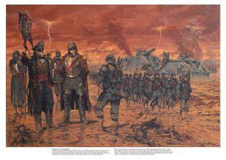 Guardia imperial krieg Escuadrón de mando.jpg
