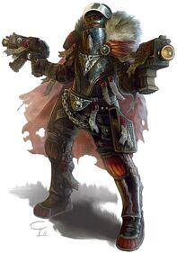 Arbitrador Armadura de Caparazon Adeptus Arbites Wikihammer