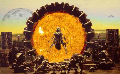 Diorama Puerta Dolmen Necrones Telaraña Wikihammer.jpg