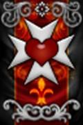 Orden del Corazón Valeroso Estandarte