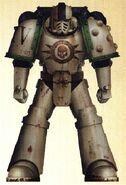 Sargento Sorruk Vasha Guardia de la Muerte 4ª Cía Istvaan III