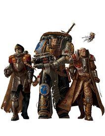 Guardianes de la Muerte Vigilantes de las Tormentas Inquisidor Comisario Guardia Imperial Ordo Xenos Wikihammer