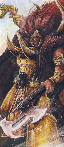 Magnus el Rojo John Blanche boceto.jpg
