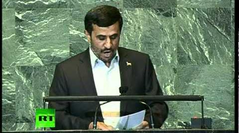 Full speech by Mahmoud Ahmadinejad at UN General Assembly 2011