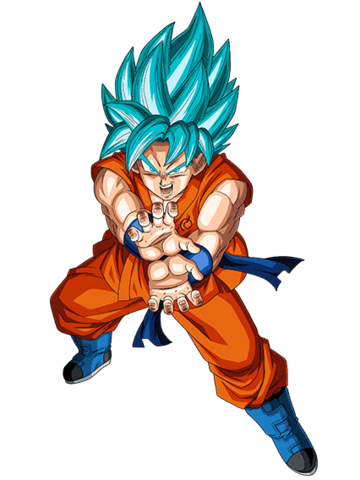 Archivo:Super Saiyajin Azul Artwork.png