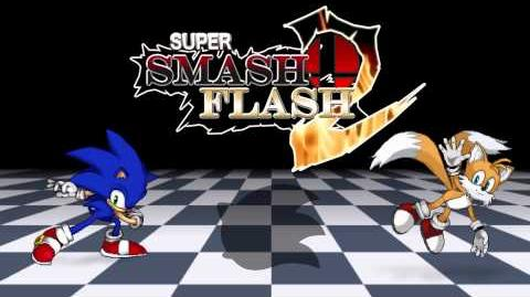 Super Smash Flash 2 V0.9b - Sonic the Hedgehog Victory Fanfare
