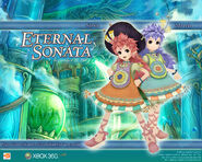 Eternal Sonata Promotional Wallpaper - Salsa and March