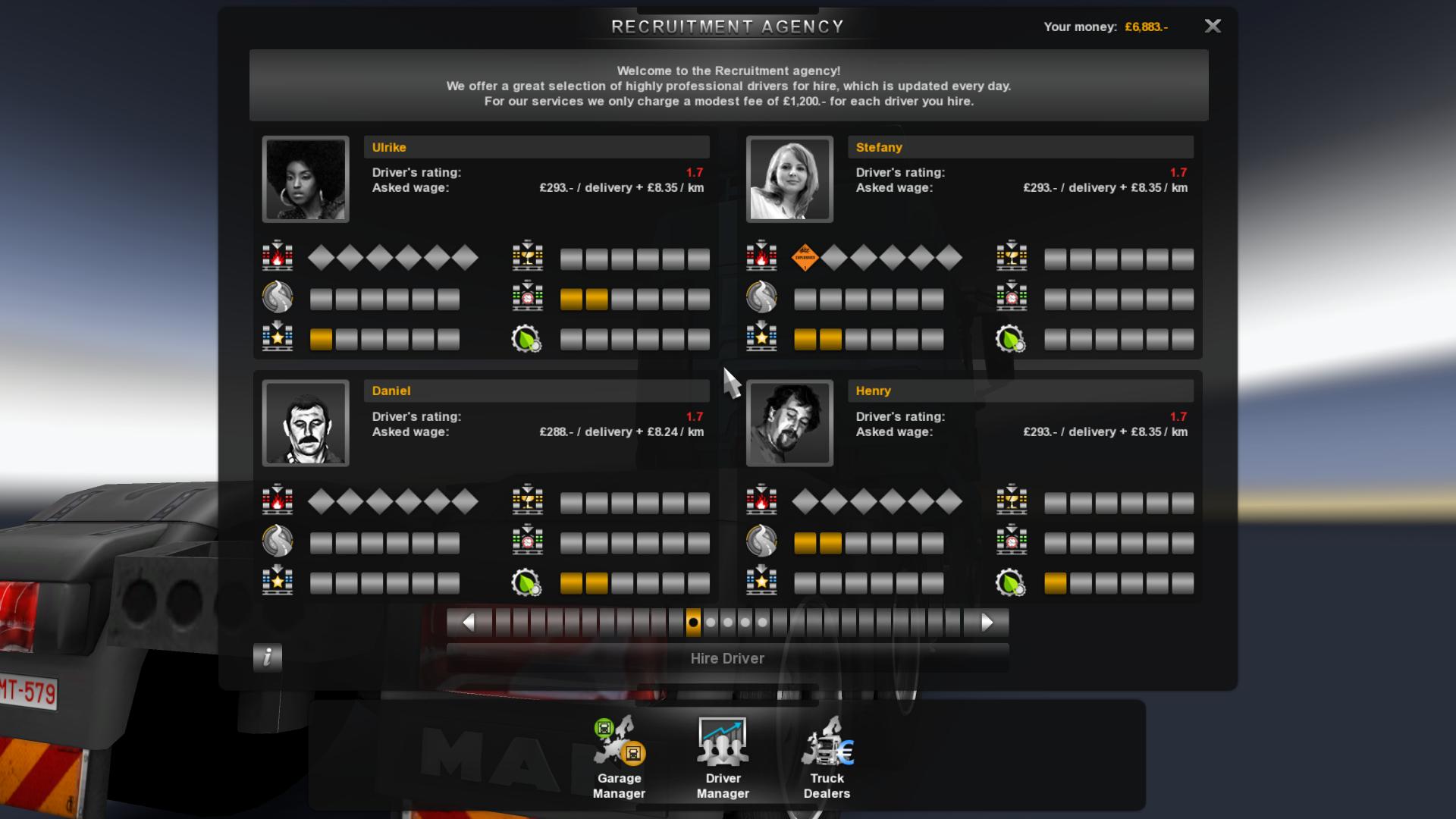 Recruitment Agency | Truck Simulator Wiki | FANDOM powered ...