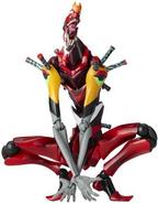 Evangelion Unit 02 Beast Mode Revoltech (Rebuild) Merchandise