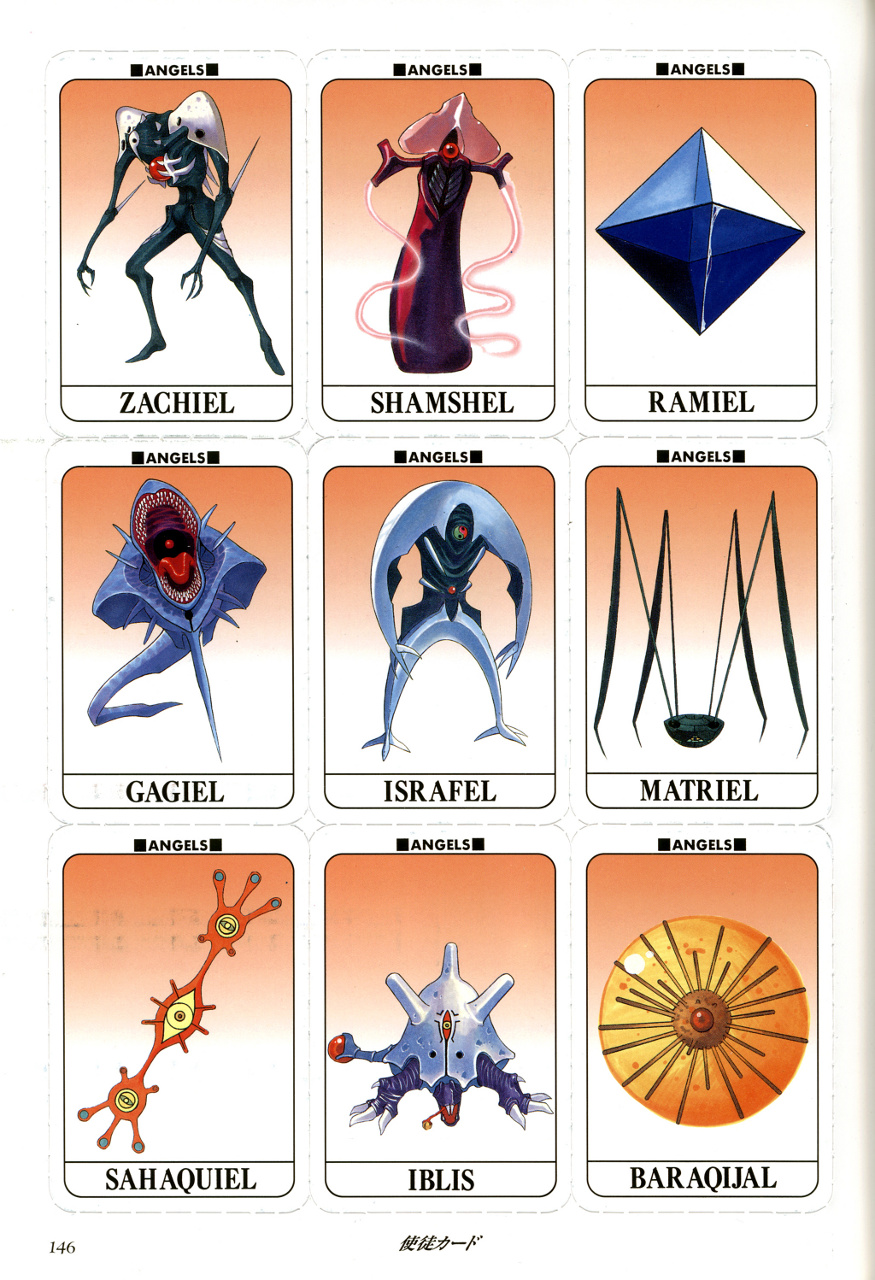 Image Angel Cards Png Evangelion Fandom Powered By Wikia