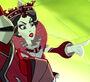 Way Too Wonderland - Red Queen commanding an attack
