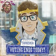 Facebook - voting ends today