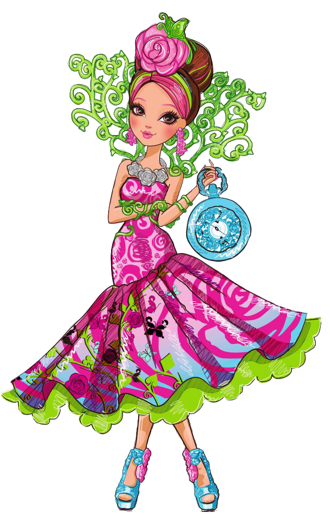 This is a photo of Lively Ever After High Characters