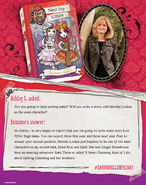 Facebook - Suzanne Selfors EAH Book Club Friday 5